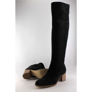 Marc Fisher Over the Knee Suede Boots (Wide Calf)
